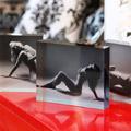 Mantle piece acrylic art block photos Perth