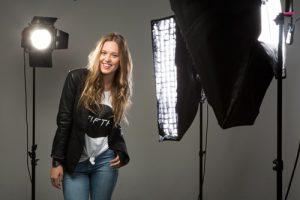 Actress photo shoot