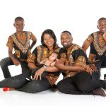 African family portrait