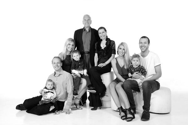 Family portrait for Christmas