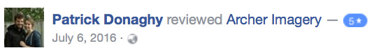 Couples review on FB