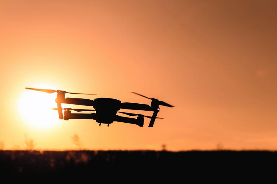 Pro drone photographer