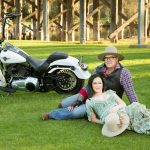 Couple with Harley