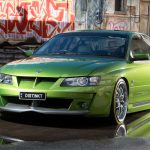 Green Holden R8