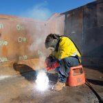 Industrial welding photo