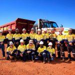 Mining team photo