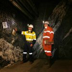 Underground mining photo