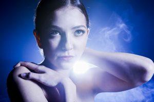 Smoke & light glam