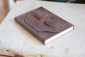 Leather bound album